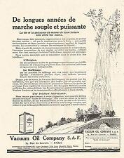 W7464 Gargoyle MOBILOIL - Illustrazione - Pubblicità del 1926 - Old advertising