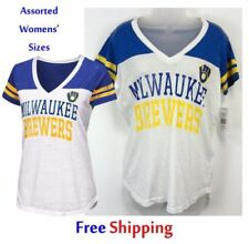b61db43ef Milwaukee Brewers White MLB Fan Apparel   Souvenirs for sale