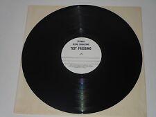 The Wackers White Label Test Pressing Black Vinyl LP Record