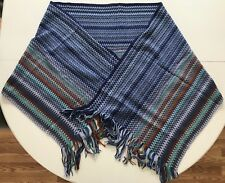 Missoni Scarf, Mulitcolored, Made in Italy, New with Tags