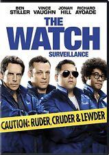 NEW DVD -  THE WATCH - Ben Stiller, Vince Vaughn, Jonah Hill, Richard Ayoade, Ro