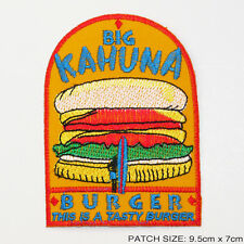 BIG KAHUNA BURGER - PULP FICTION Prop Embroidered Patch