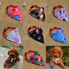 1pcs Colorful Collar Dog Puppy Pet Cat Collars NeckLace Scarf Bandana