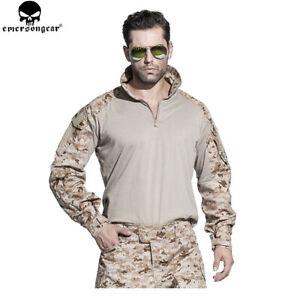Emerson Tactical G3 Combat Shirt Training Military T-shirt Airsoft Long Sleeve