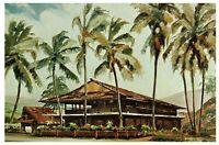 KONA GALLEY RESTAURANT Kailua-Kona, Hawaii c1950s Vintage Postcard