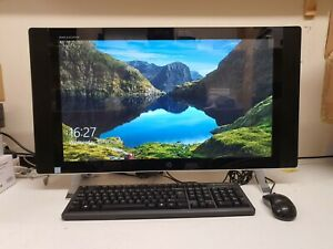 "HP Envy 27-p050na 27"" QHD All-in-One PC Intel Core i5 8GB 1TB Win10 SSD B&O"