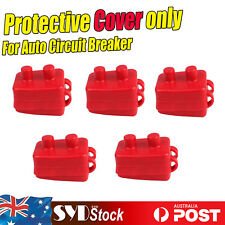 5 x PVC Rubber Protective Cover Fit For 12V Auto Circuit Breaker Reset Protector