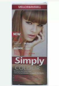 6 x Mellor & Russell Simply Colour 6.3 Dark Golden Blonde Permanent Hair Dye