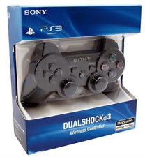 Brand New SEALED Sony Playstation 3 PS3 Dualshock 3 Wireless Controller Black!