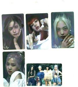 {Black pink}  2020 k-pop cashbee card - lisa,jisoo,jennie,rose
