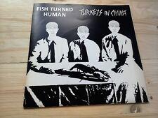 """Fish volvió pavos humanos en China Excelente 7"""" single vinyl record parte 1 P/S"""