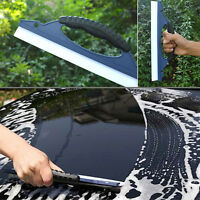 Silicone Wash Cleaning Brush Cleaner Wiper Car Window Squeegee Drying Blade A Z