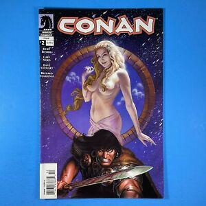 CONAN #2 NEWSSTAND UPC Dark Horse Comics 2004 Kurt Busiek Cary Nord