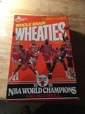 Chicago Bulls Wheaties, 1991, Unopened, Michael Jordan