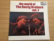 Vinyl LP The World of the Everly Brothers Vol 1