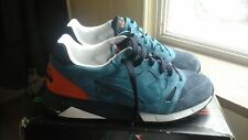 Mens Diadora S8000 Italia Shoes Lyons Blue/Black Iris US Size 11