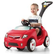 Step2 Easy Steer Sportster INFANT TODDLER FOLDABLE STROLLER RIDE ON PUSH CAR Red