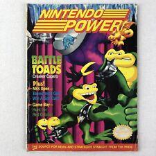 Nintendo Power Volume 25 BattleToads Battle Toads No Poster June 1991