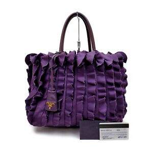 Prada Tote Bag  Purple Nylon 2207113