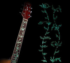 Guitar Inlay Stickers Green Life Tree Decals