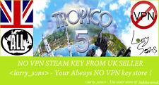 Tropico 5 Steam key no VPN Region Free UK Verkäufer