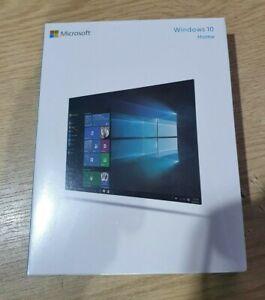 Microsoft Windows 10 Home 32/64Bit Operating System Retail Box Usb
