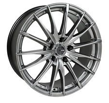 18 ENKEI PFS GRAY RIMS 18x8 +40 5x114.3 FITS: OPTIMA CIVIC LANCER GALANT TSX RSX