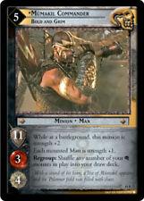 LOTR: Mumakil Commander, Bold and Grim [Mint/Near Mint] Treachery & Deceit Lord