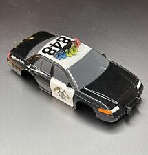 AFX TOMY Highway Patrol #848 ho slot car body