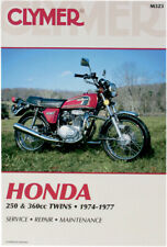 CLYMER Repair Manual, Honda 250-360cc Twins 1974-1977, CB250GS CB360 CJ250 CJ360