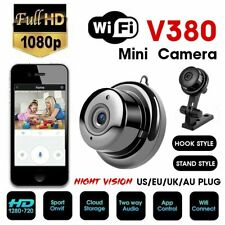 V380 Mini Wifi Spia Telecamera Micro Infrarossi Video Nascosta Visione Notturna