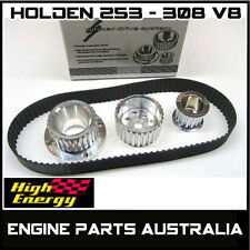 Billet Aluminium Gilmer Belt Drive Kit Holden HQ HJ HX With 253 308 V8 Engine