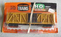 Vintage HO Scale Life Like The Katy MKT 47152 Cattle Car NIP