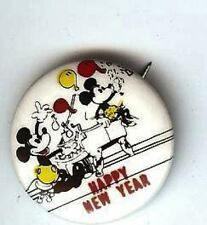 Happy NEW YEAR pin MICKEY + MINNIE Mouse Pin