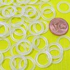 55 Stück Häkelringe flach 12mm