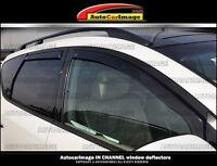 Window visors, rain guards, vent visor HONDA CRV CR-V 2012 13 14 15 IN CHANNEL