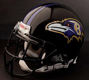 STEVE SMITH Edition BALTIMORE RAVENS Riddell REPLICA Football Helmet