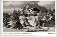 MITTENWALD Bayern AK ~1950/60 St. Anton a. Kranzberg alte Postkarte