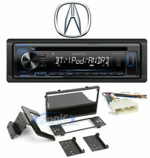 Kenwood Single DIN In-Dash Radio Receiver w/ Bluetooth For 1996-1998 Acura TL