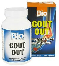 BioNutrition Gout Out 60 V Capsules Bio Nutrition Suports Uric Acid Level