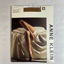 Anne Klein Pantyhose Polished Sheer Nude Queen 2X Control Top Reinforced Toe
