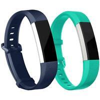 2x Fitbit Alta / HR Armband Ersatz Silikon Band Uhrenarmband Fitness  + 6x Folie