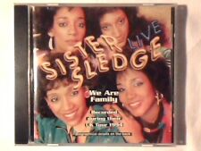SISTER SLEDGE Live - We are family cd
