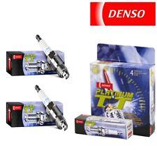 2 OEM DENSO 4503 Platinum Titanium TT Performance Power Spark Plugs PK16TT