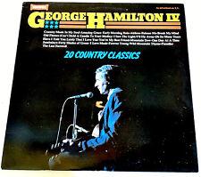 "George Hamilton IV VINYL Record 12"" LP 1981 Amazing Grace Break My Mind COUNTRY"