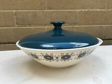 Contessa Ridgway Lidded Casserole Dish in pattern made in england 23cm