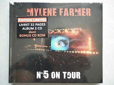Mylene Farmer double cd album digipack On Tour N°5