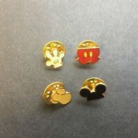 WDW Mickey Body Parts Set - Very RARE & Hard to Find 4 Pin Set Disney Pin 465
