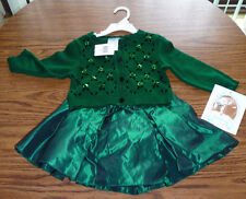 Girls 2 Piece Holiday Dress 3T- Brand New