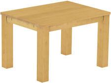 Esstisch Esszimmer Tisch 120x90 Pinie Massivholz Pinie Farbton Eiche Honig hell